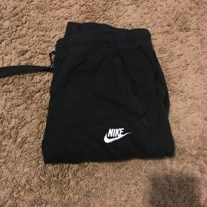 Black Nike Men's Sweatpants